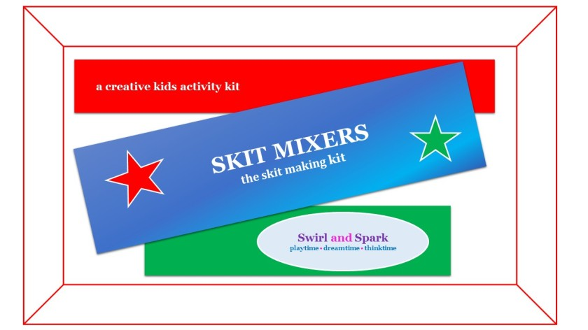 Skit Mixers Activity Kit-cover page