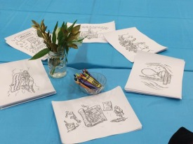 Launch Party -Coloring Pages