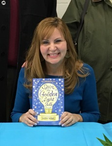 Launch Party- Me with my book