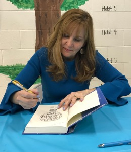 Launch Party- Signing my first book
