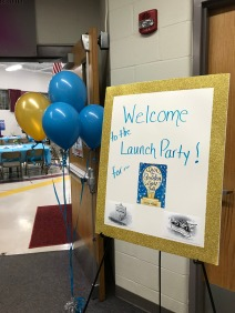 Launch Party- Welcome Sign