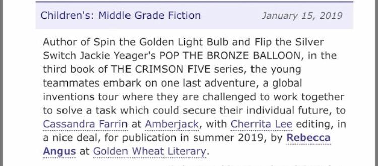 pop the bronze balloon announcement